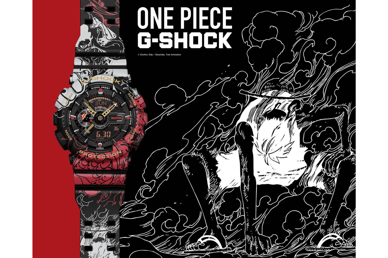 One Piece x G-SHOCK GA-110JOP Watch Collaboration | HYPEBEAST