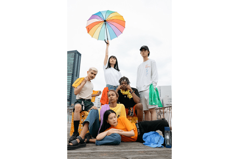 OPEN/END Lookbook Emerging Designers Tokyo Japan Inclusive Unisex Mens Womens Clothing Sundae Kids Graphics T-Shirts Cookies Cookie Boy Bangkok