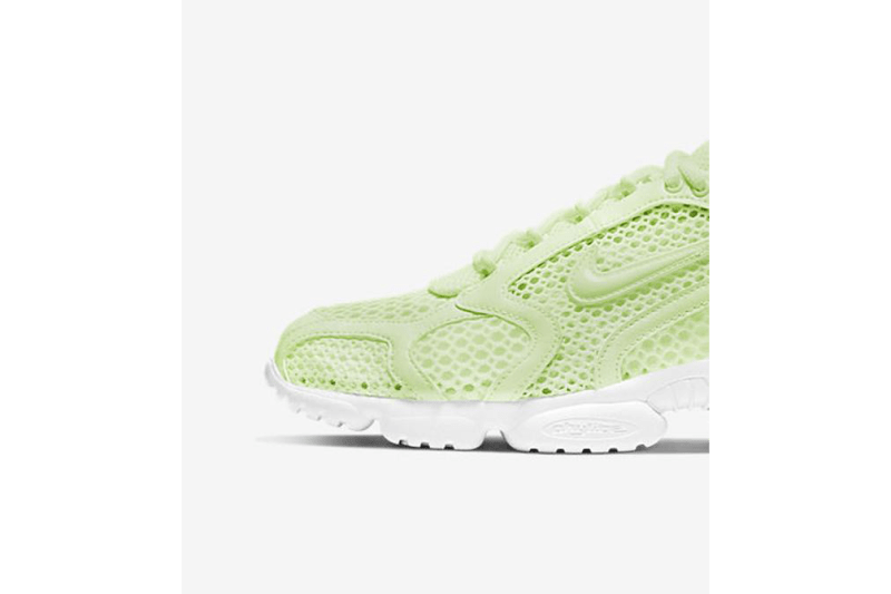 "Nike Air Zoom Spiridon Cage 2 ""Volt/White"" CJ1288-700 Release Information First Look Closer Drop Date Hanon Shop Launches Summer Footwear Sneaker Swoosh OG Classic"