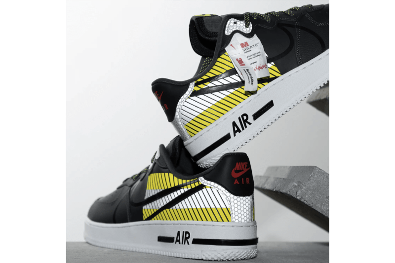 3M x Nike Air Force 1 React LX Release Information | HYPEBEAST