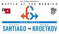 BATB 6 -- Manny Santiago vs Sewa Kroetkov