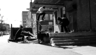 BLUETOWN'S BLACK AND WHITE -- Skating in Chicago