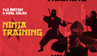 NINJA TRAINING -- With Flo Mirtain and Karl Salah