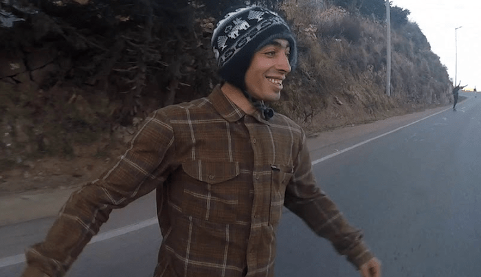 Bombing Hills In Peru With Milton Martinez & Madars Apse