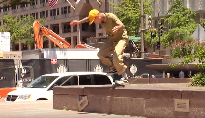 Gilbert Crockett & The Bust Crew Skate DC's Pulaski Plaza In New Edit