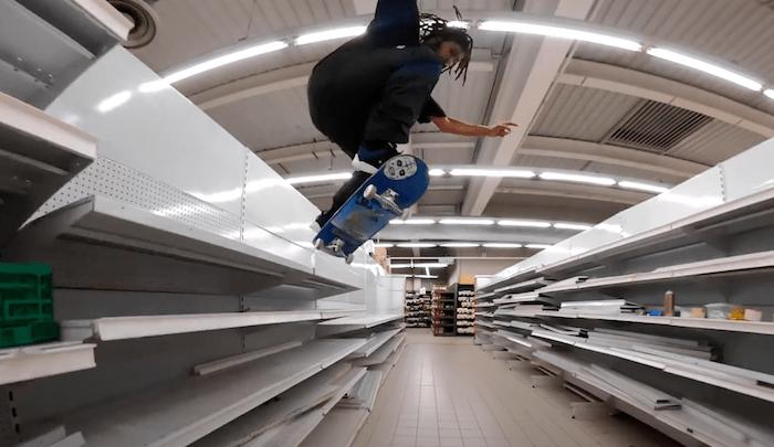 GoPro Take Over Supermarket For Skate Session