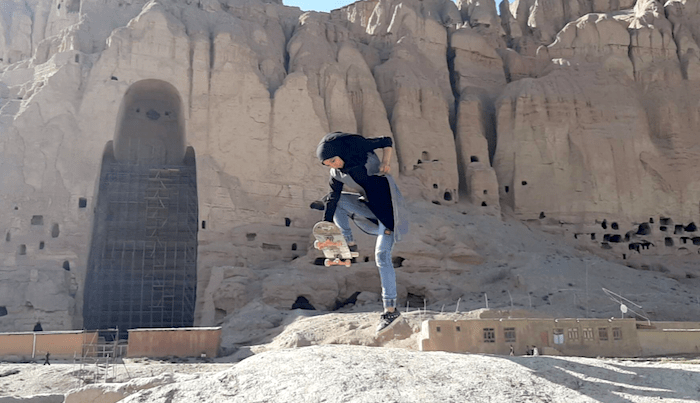 Check Out This Sneak Peek Of Skateistan's Bamyan School Build