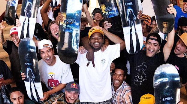 Ish Cepeda Is Pro For April Skateboards