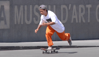 Watch Footage Of Margie Didal's First MACBA Visit Here