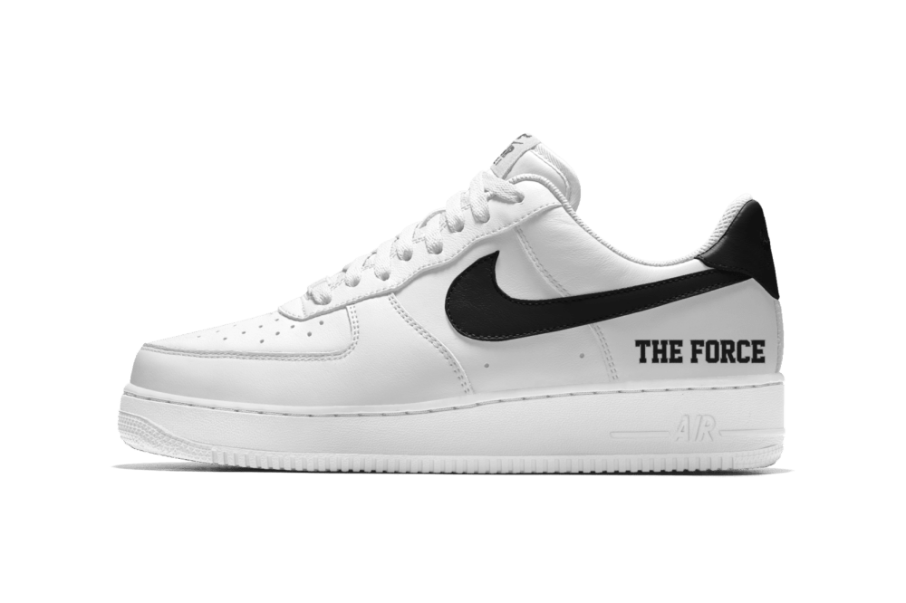 Customize The Nike Air Force 1 With The Force Is Female Message
