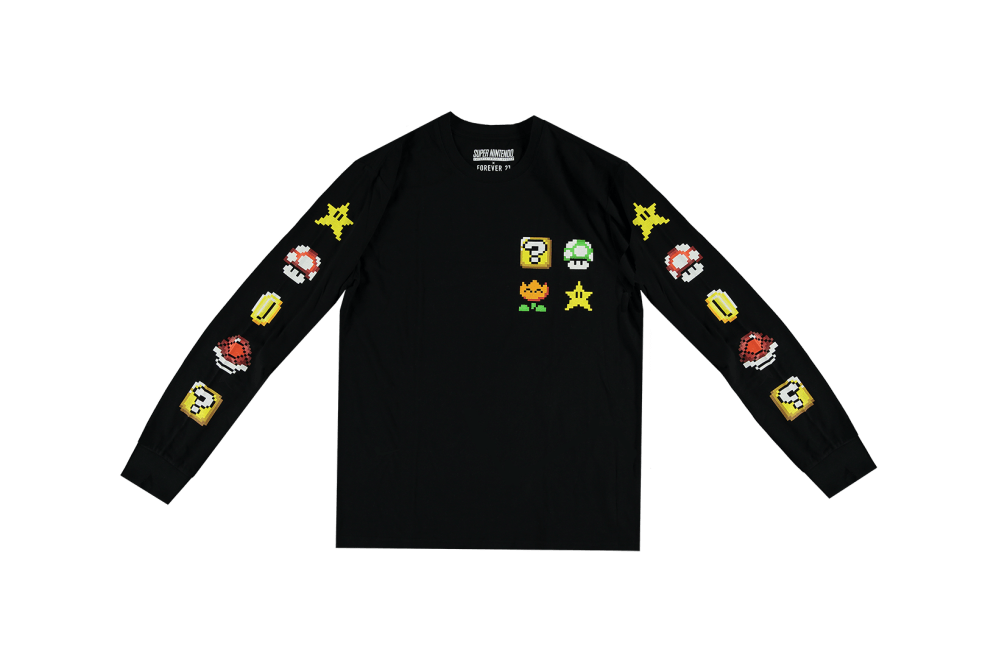 Super Nintendo x Forever 21 Collection