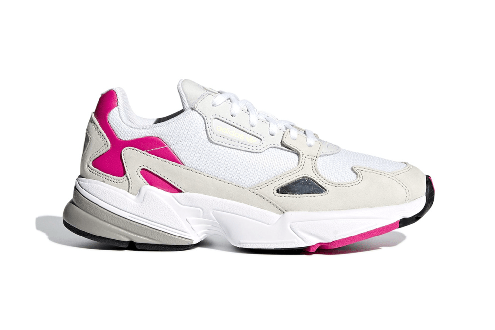 adidas Originals Falcon Pink Gray White