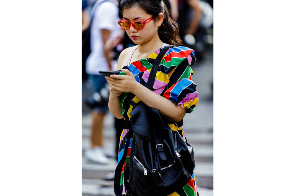 Milan Fashion Week Spring Summer 2019 Women Street Style