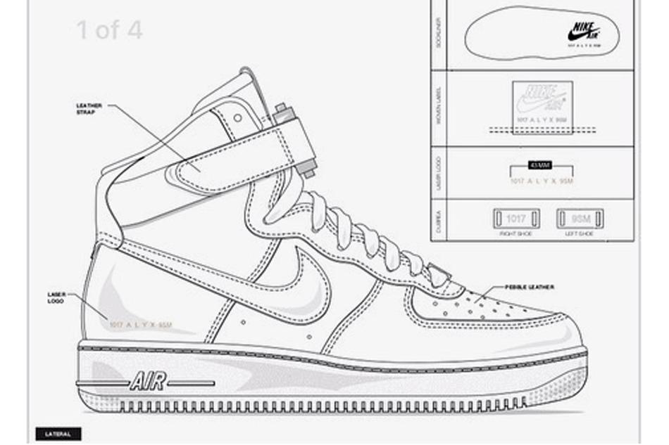 ALYX x Nike Air Force 1