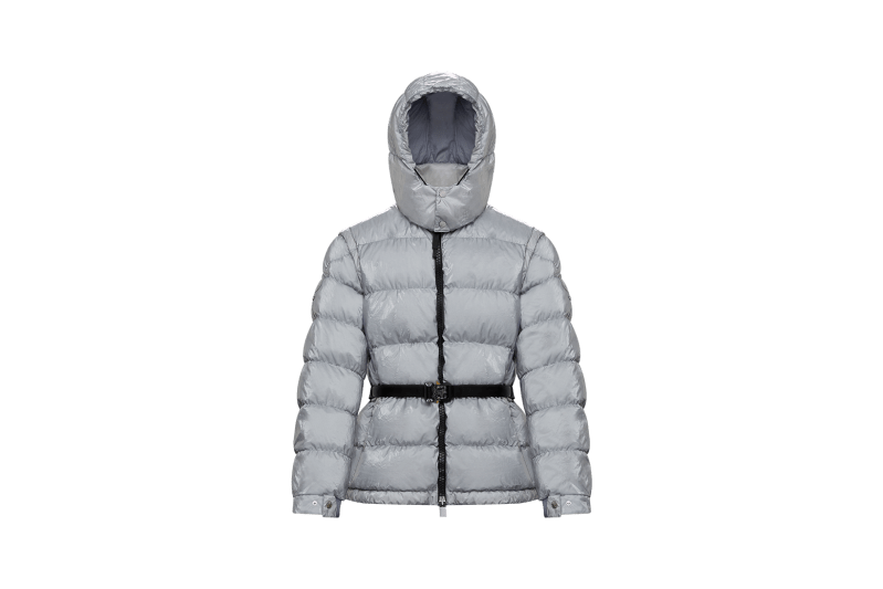 6 MONCLER 1017 ALYX 9SM Collection Puffer Grey Rollercoaster Belt