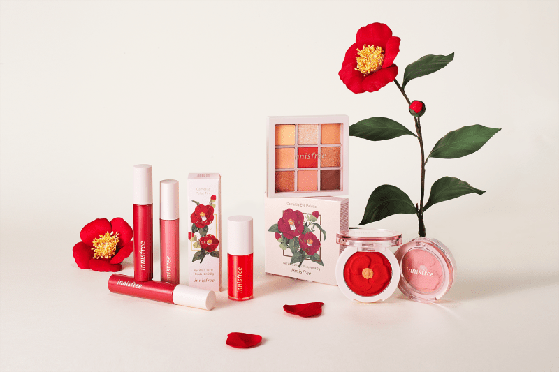 innisfree Jeju Color Picker Camellia Makeup Collection