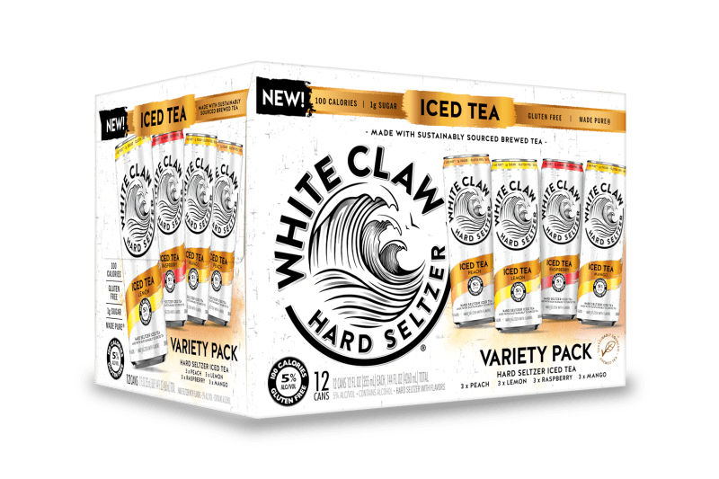 White Claw Hard Seltzer Iced Tea Flavors