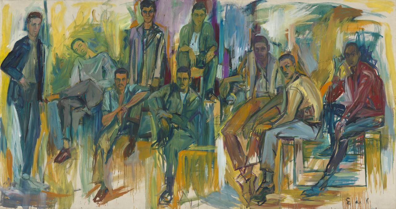 Recurring Waves Of Arrival Elaine De Kooning S Portraits