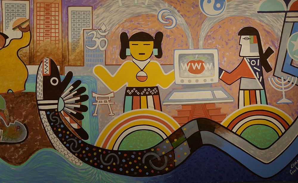 Contemporary Hopi Artists Mural Travels From Flagstaff To