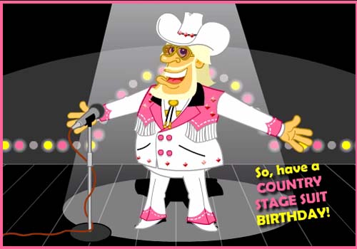 Country Birthday Song Free Happy Birthday Ecards