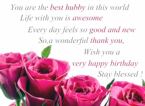Happy Birthday My Hubby Free For Husband Amp Wife Ecards