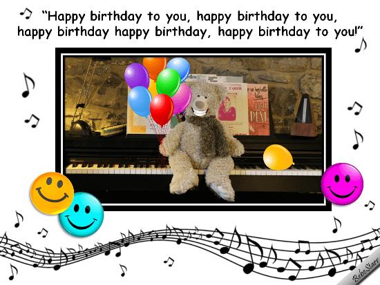 Birthday Facebook Free Cards Animated Singing