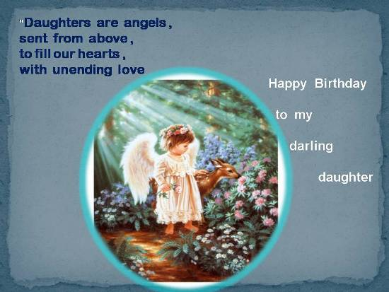 Wishes My Daughter Quotes Birthday Happy