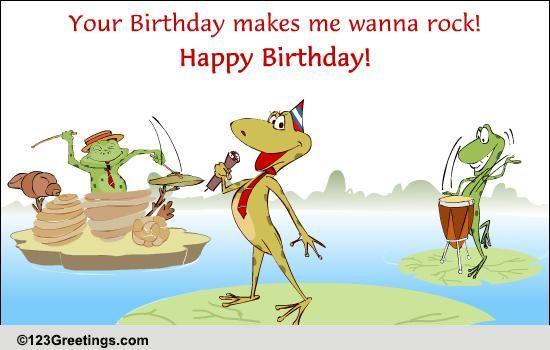 Free Singing Online Cards Birthday