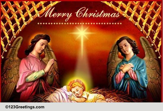 Friends Merry Family Wishes Christmas And