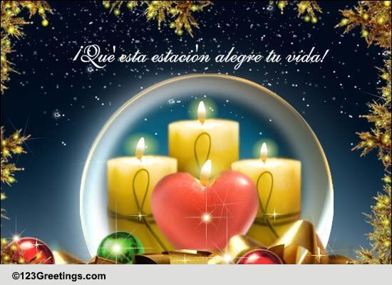Cards 123greetings Christmas Spanish