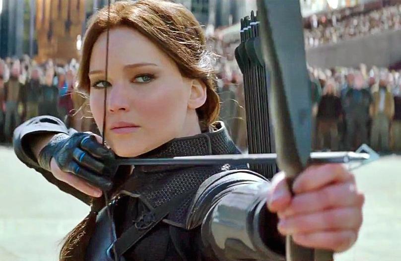 Katniss Everdeen Catching Fire Shooting