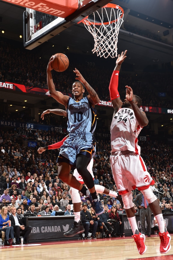 Grizzlies Fight But Fall To Raptors Memphis Grizzlies
