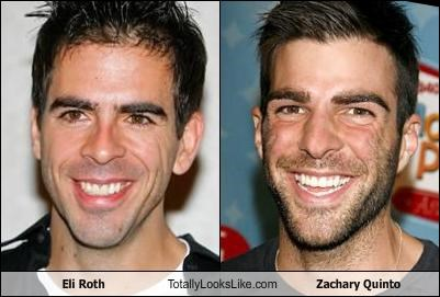 Eli Roth Totally Looks Like Zachary Quinto   Memebase   Funny Memes actor eli roth movies TV Zachary Quinto   2555742208