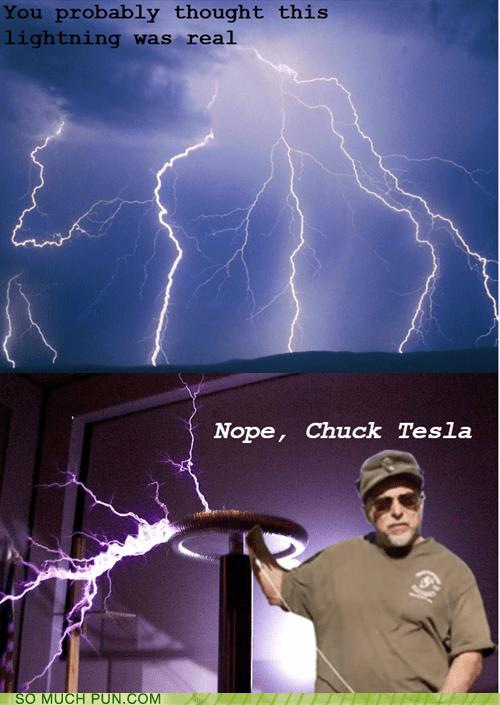 Puns lightning funny puns pun pictures cheezburger, funny cartoons pun cat