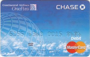 continental airlines credit card - 300×191