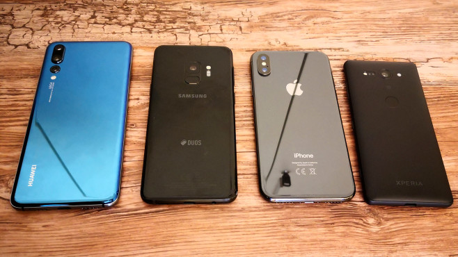 Apple vs  Samsung vs  Huawei vs  Sony  What smartphone is the     Apple vs  Samsung vs  Huawei vs  Sony  Which smartphone is the fastest