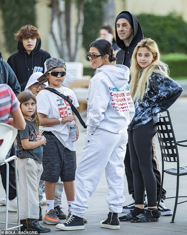 Kourtney Kardashian and Travis Barker are unlikely pals as ...