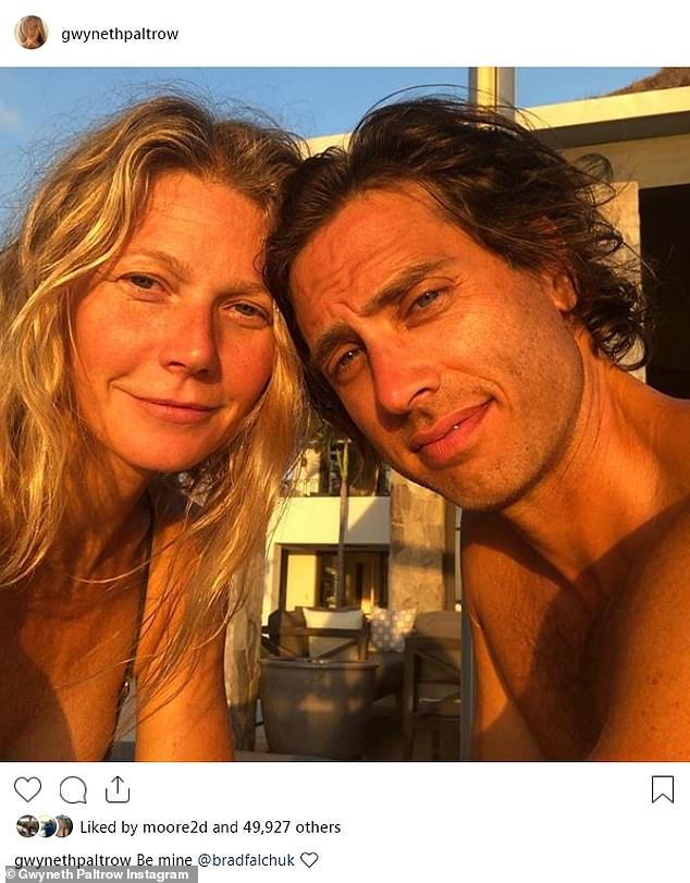 Gwyneth Paltrow's husband Brad Falchuk says 'holy f*** am ...