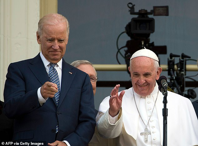 Watch Biden confirms he'll meet the Pope in Rome – Residence   Each day Mail Online