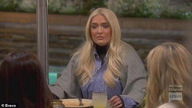 Erika Jayne reveals Tom Girardi was 'unconscious' for 12 hours after automobile wreck… amid rip-off divorce