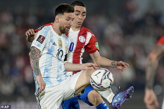 Lionel Messi was quieter than usual as Argentina were held to a goalless draw in Paraguay