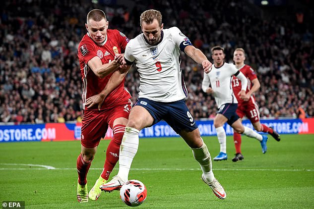 Kane drew another blank against Hungary and is yet to score in the Premier League this season