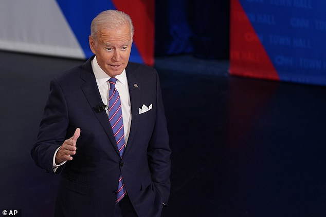 Watch Biden loses extra assist than another president in first 9 months – Residence | Each day Mail Online