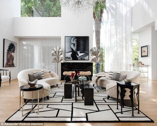 Kris Jenner House Interior