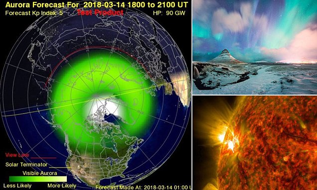 Northern Lights Forecast Uk Today