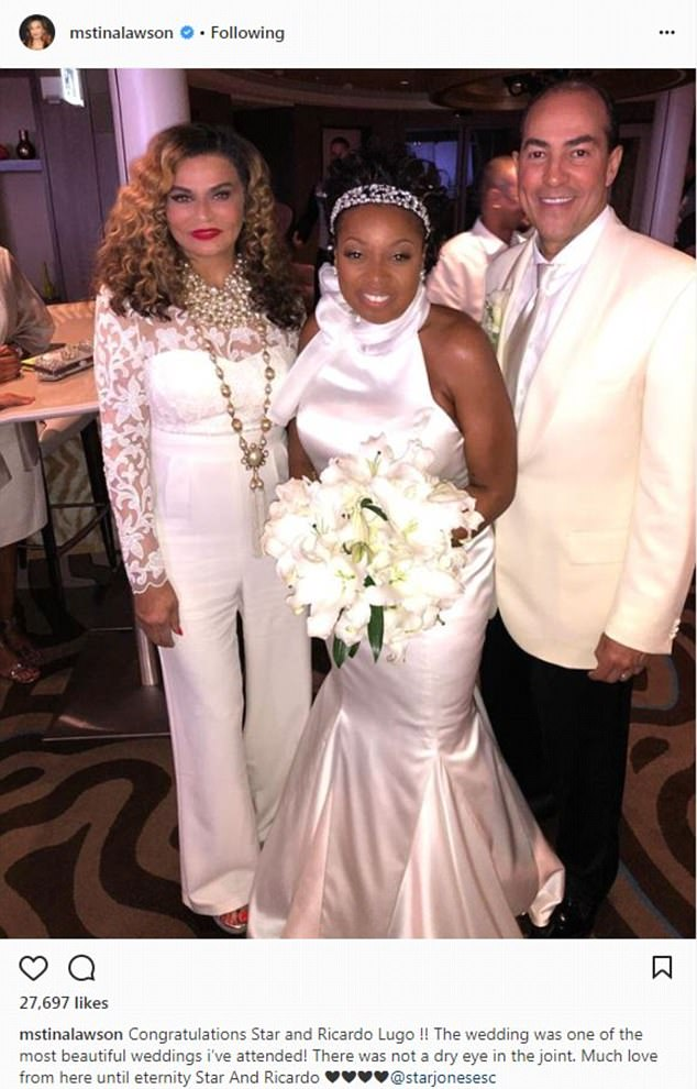 Omarosa Manigault Wedding Dress