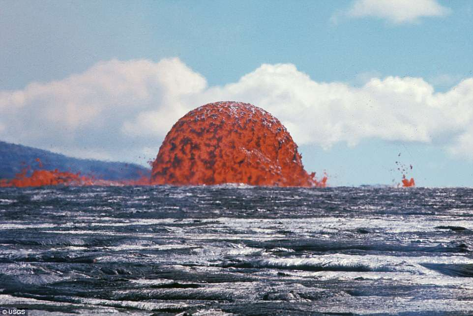 How Volcanoes Form Underwater