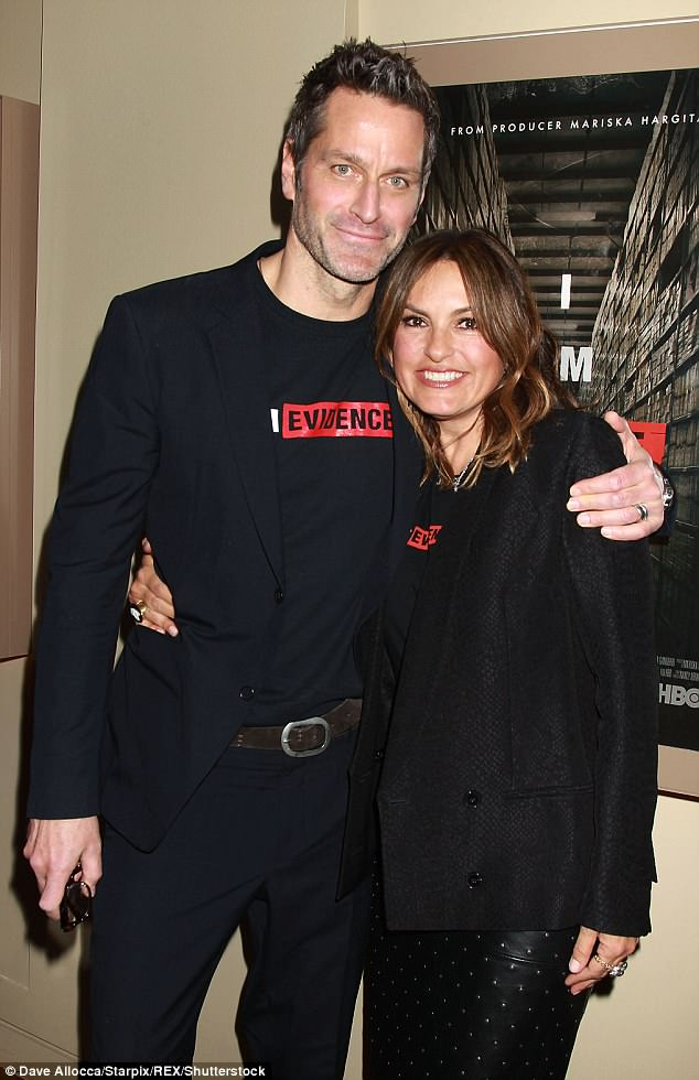 Mariska Hargitay and Peter Hermann attend I Am Evidence ...