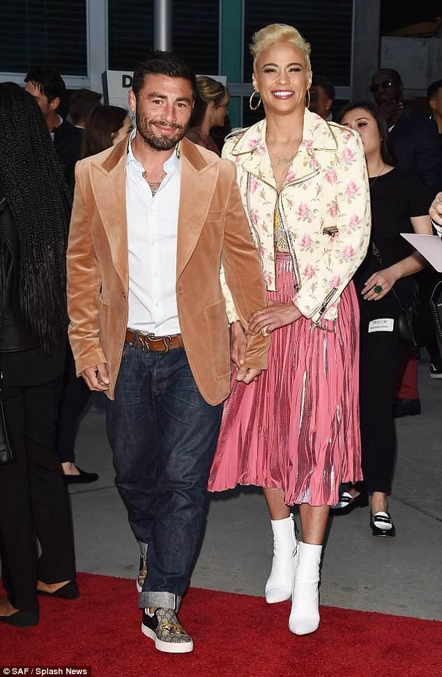 Paula Patton and new boyfriend Zachary Quittman make their ...