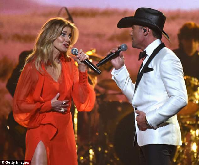 Faith Hill And Tim Mcgraw D